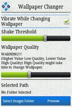 Wallpaper Changer New screenshot 1