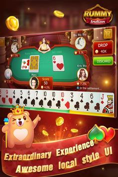 Indian Rummy-Free Online Card Game screenshot 1