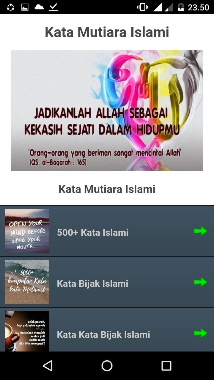 Kumpulan Kata Mutiara Islami Offline For Android Apk Download