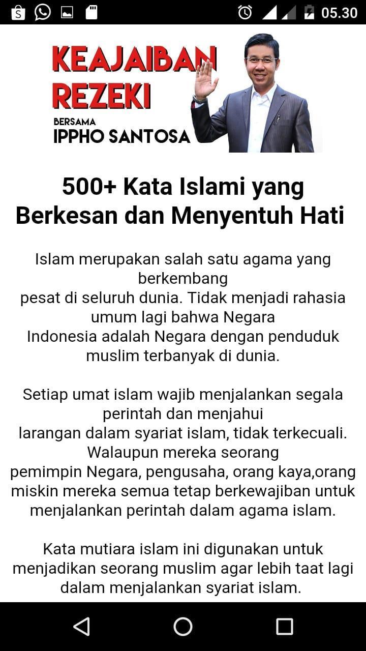 Kata Motivasi Islami Ippho Santosa For Android Apk Download