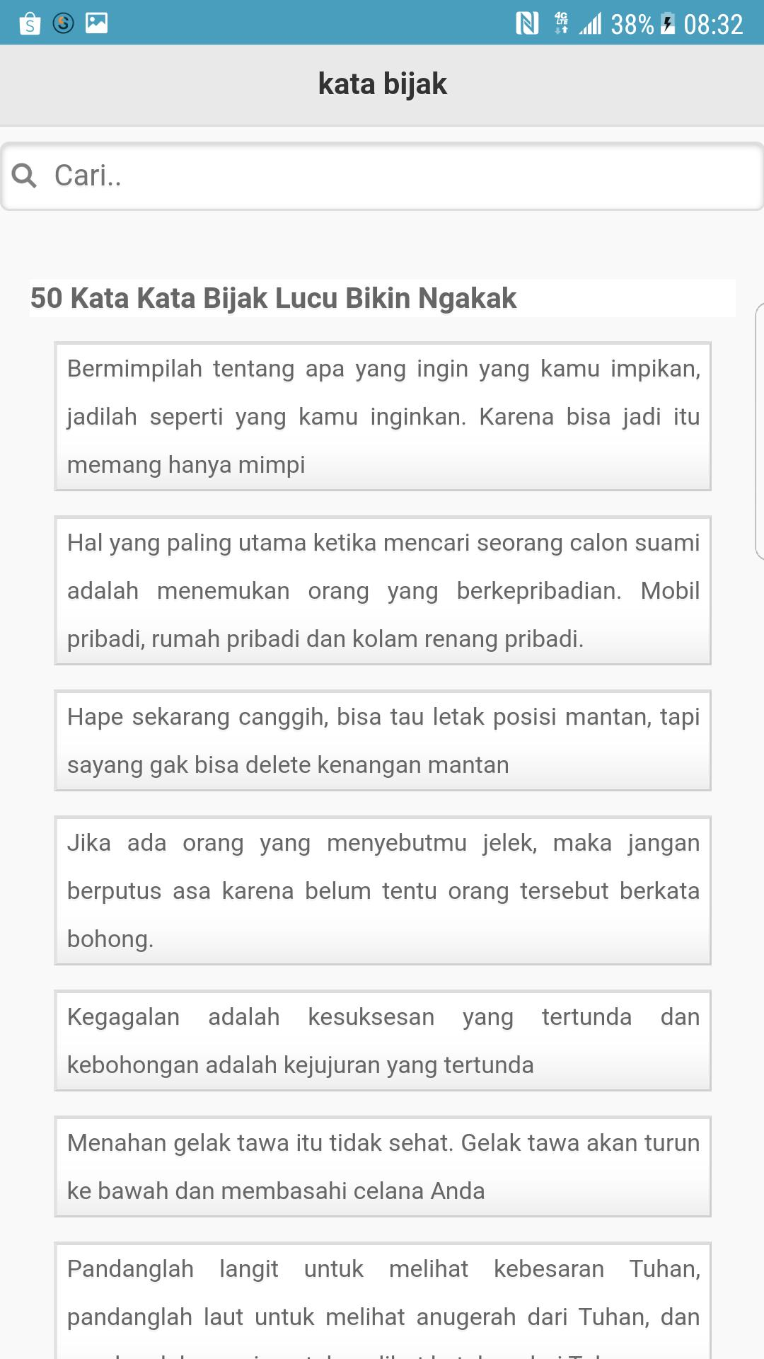 1000 Kata Bijak Sejagat For Android APK Download