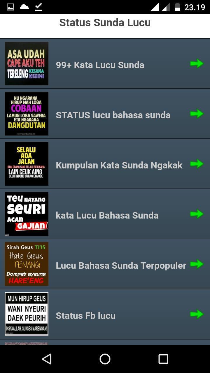 2000 Status Lucu Sunda Offline For Android Apk Download
