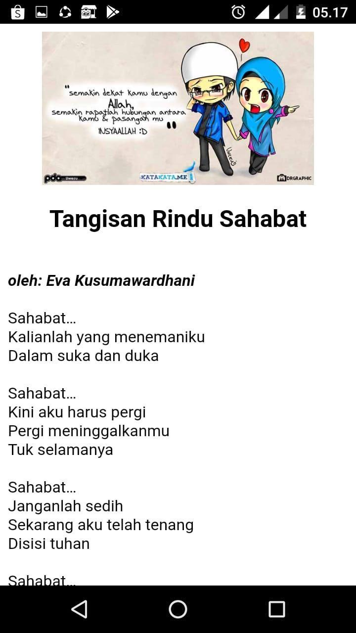 Puisi Sahabat Sejati For Android Apk Download