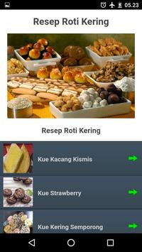 Aneka Resep Roti Kering Spesial Renyah poster
