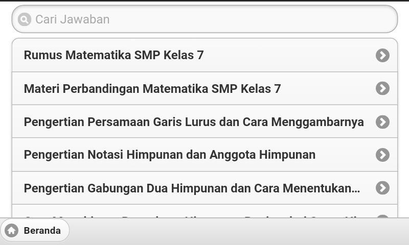 Rumus Matematika Lengkap Sd Smp Sma For Android Apk Download