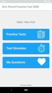 DMV Permit Practice Test 2020 poster