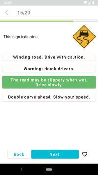 DMV Permit Practice Test 2020 screenshot 1
