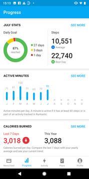 Runtastic Steps - Step Tracker & Pedometer screenshot 1