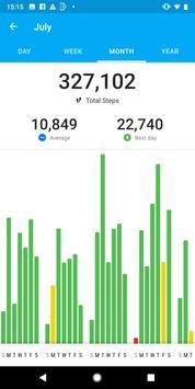 Runtastic Steps - Step Tracker & Pedometer screenshot 2