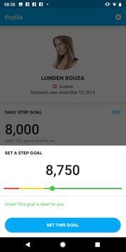 Runtastic Steps - Step Tracker & Pedometer screenshot 4