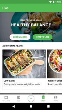 Runtastic Balance Calorie Calculator, Food Tracker screenshot 3