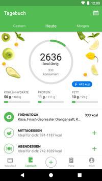 Runtastic Balance Kalorien- & Ernährungstagebuch Plakat