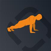 Runtastic Push-Ups Counter & Exercises icon