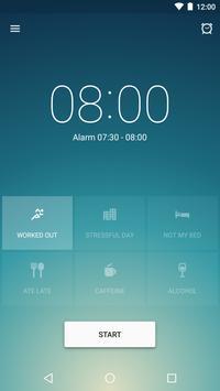 Runtastic Sleep Better Умный будильник и фазы сна постер