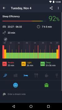 Runtastic Sleep Better Умный будильник и фазы сна скриншот 1