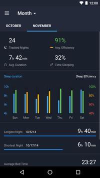 Runtastic Sleep Better Умный будильник и фазы сна скриншот 3