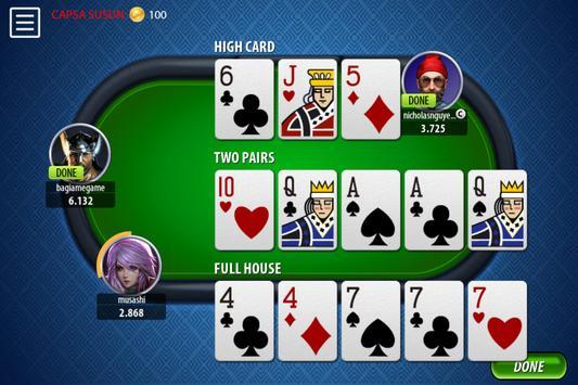 Chinese Poker Sicbo Koprok Dice Online screenshot 4