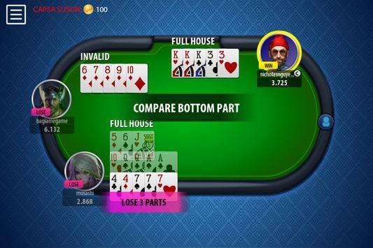 Chinese Poker Sicbo Koprok Dice Online screenshot 13