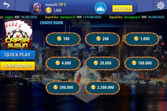 Chinese Poker Sicbo Koprok Dice Online screenshot 11
