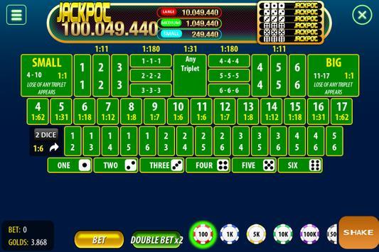 Chinese Poker Sicbo Koprok Dice Online screenshot 2