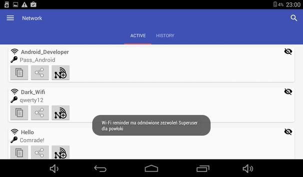 Wi-Fi przypomnij hasło screenshot 1