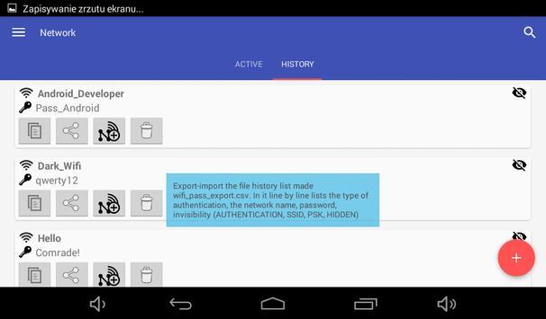 Wi-Fi przypomnij hasło screenshot 5
