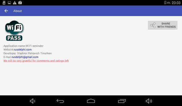 Wi-Fi przypomnij hasło screenshot 6