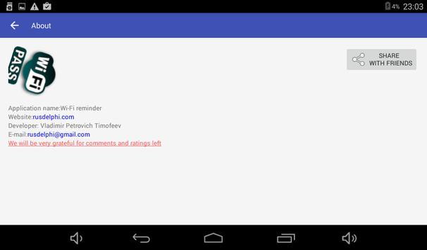 Wi-Fi przypomnij hasło screenshot 7