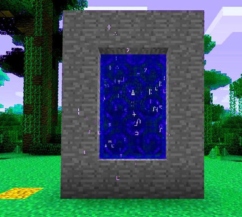 как в игре майнкрафт 1 8 9 делать портал без модов #5
