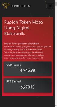 Rupiah Token - STO screenshot 1