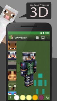 Skin Editor Tool for Minecraft 截圖 3