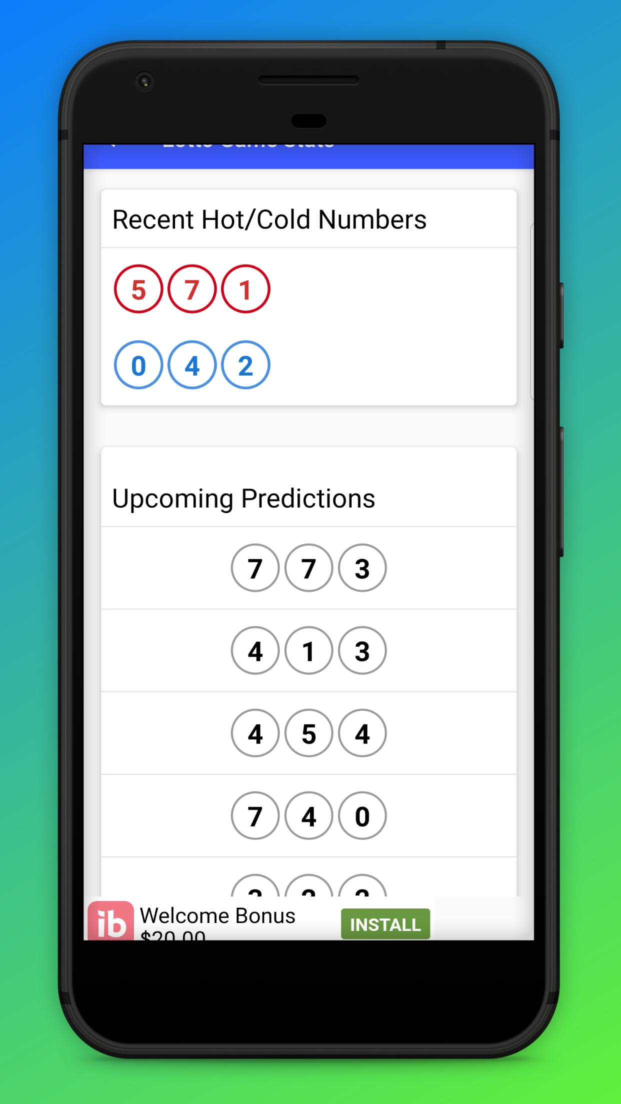 NC - Lottery Ticket Scanner & Checker for Android - APK Download
