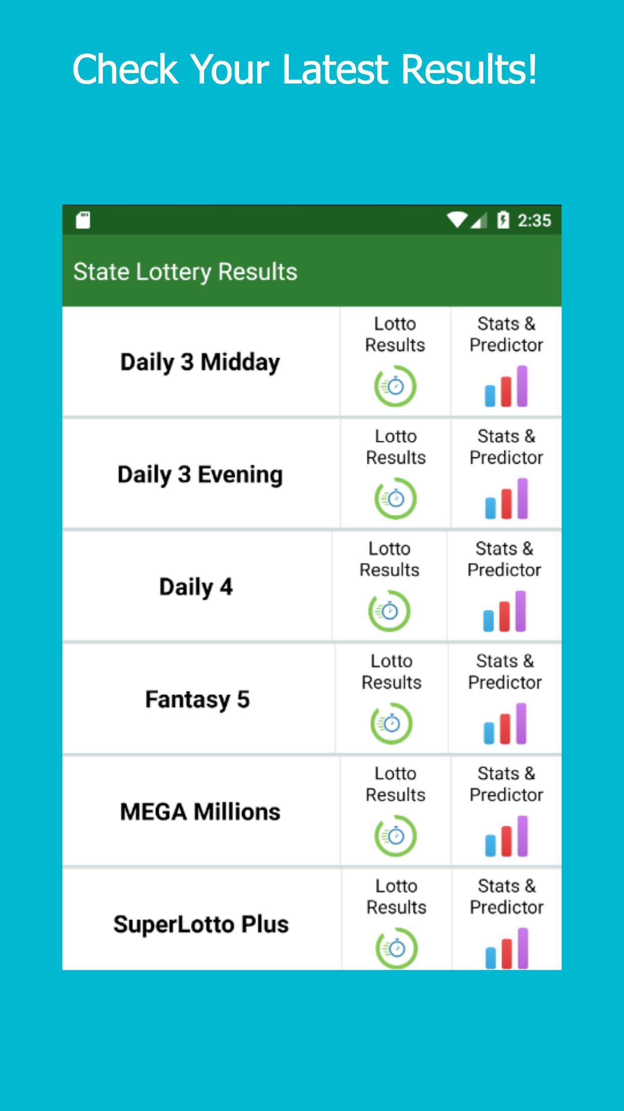 North Carolina Lottery Results For Android Apk Download