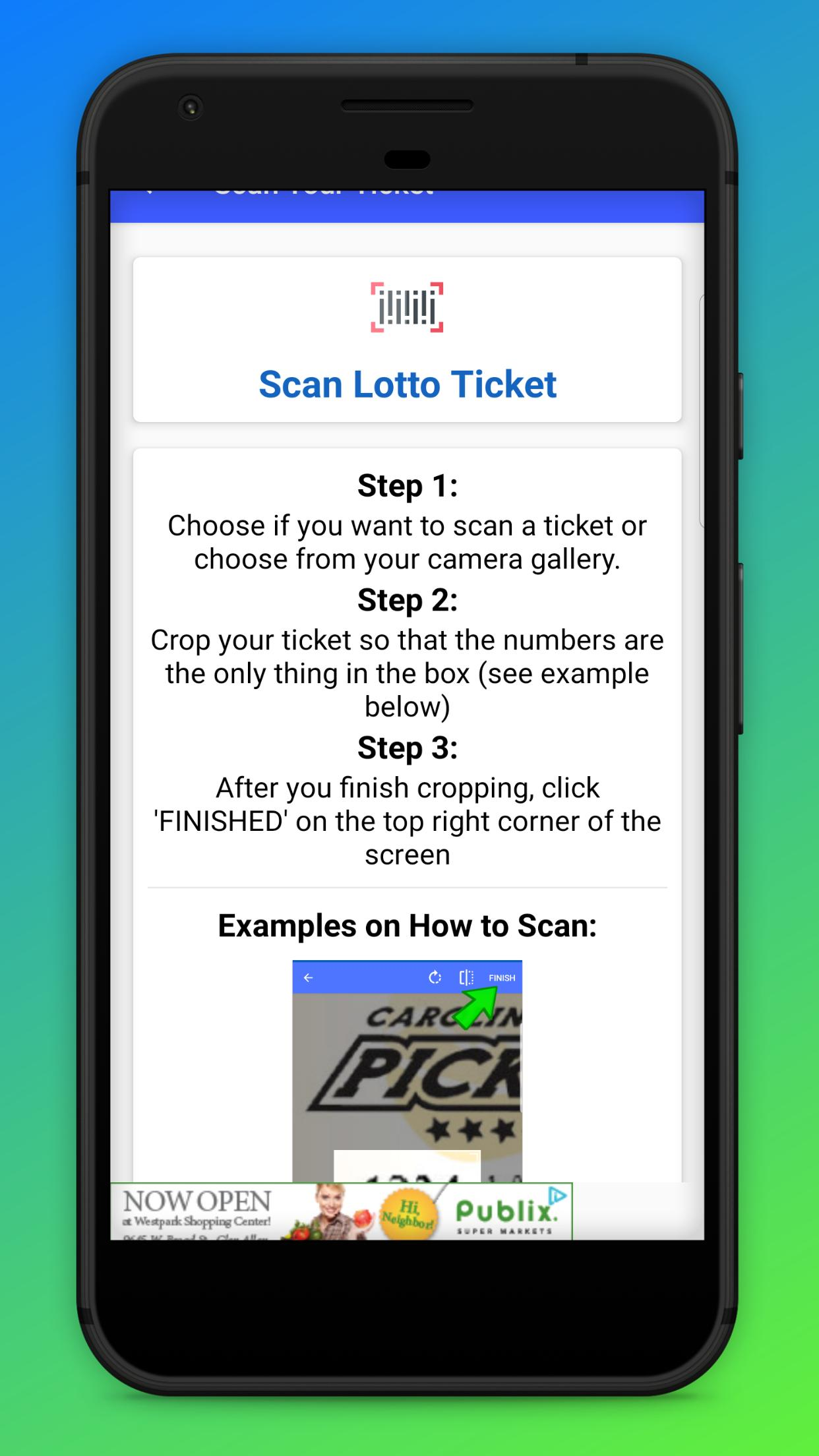 VA - Lottery Ticket Scanner & Checker for Android - APK Download