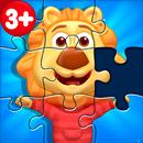 Puzzle Kids - Puzzles y Formas de Animales APK