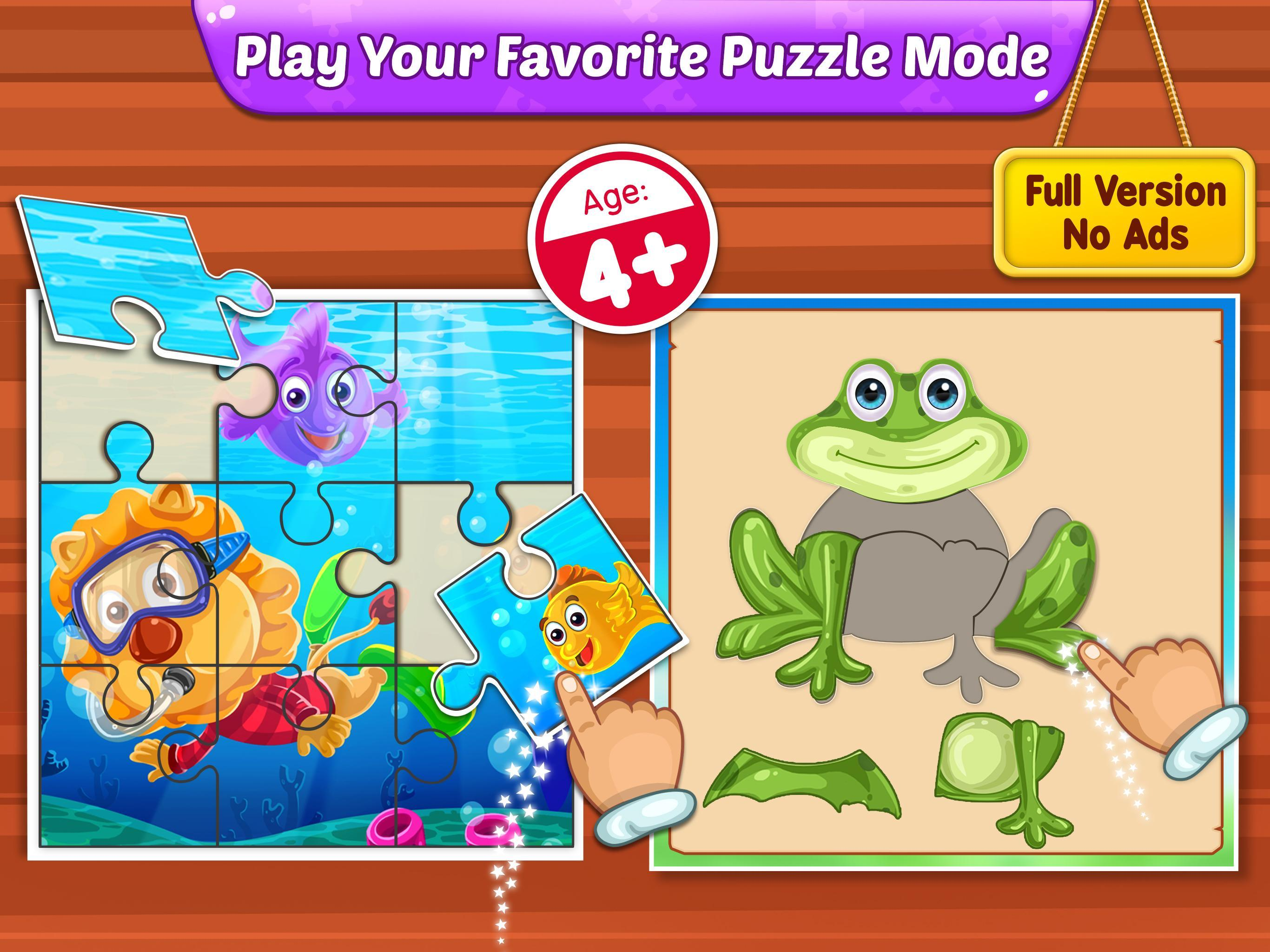 puzzle puzzle pictures for kids