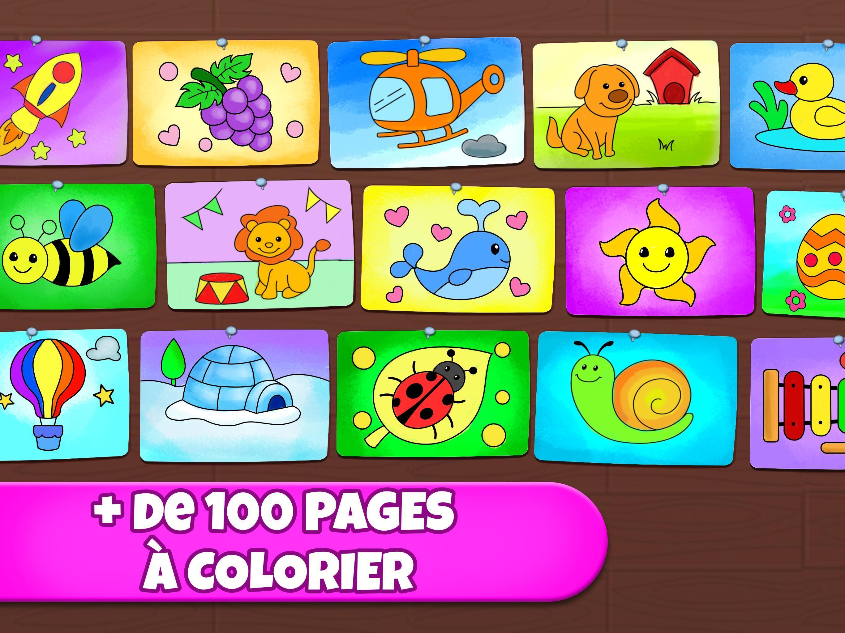 Jeu De Coloriage Coloriage Peinture Dessin Fluo Pour Android Telechargez L Apk