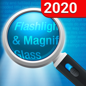 Magnifying Glass + Flashlight v1.9.6 (Premium) (Unlocked) (