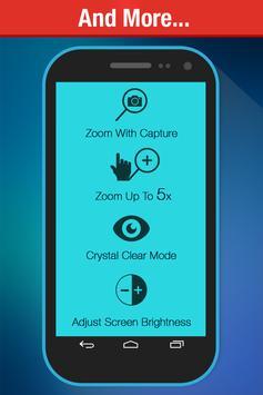 Lupa y linterna - Magnifier captura de pantalla 3