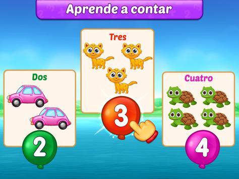 Juegos de matemáticas para niños: sumas y restas captura de pantalla 10