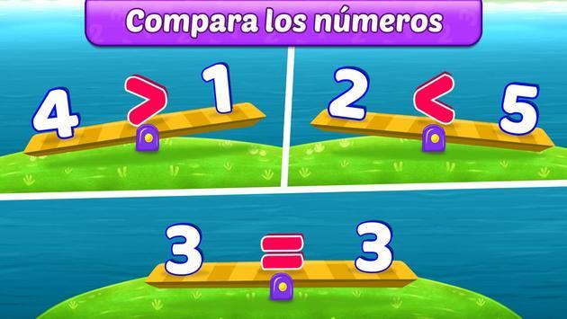 Juegos de matemáticas para niños: sumas y restas captura de pantalla 2