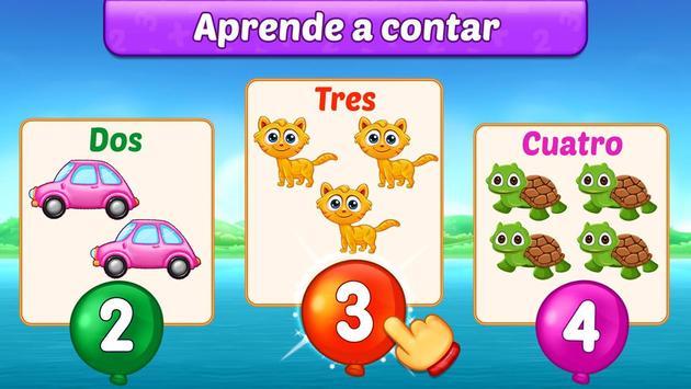 Juegos de matemáticas para niños: sumas y restas captura de pantalla 3