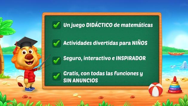 Juegos de matemáticas para niños: sumas y restas captura de pantalla 5