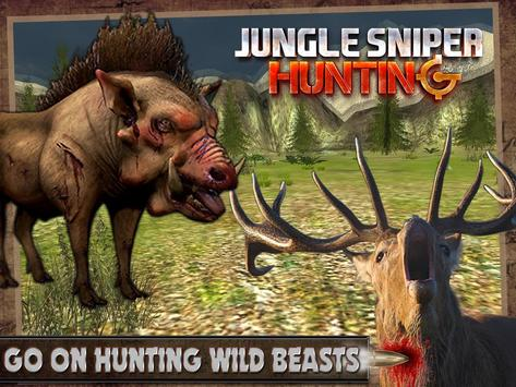 Jungle Sniper Hunting poster