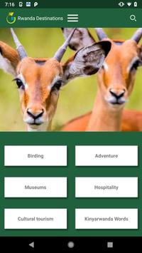 Rwanda Destinations screenshot 1