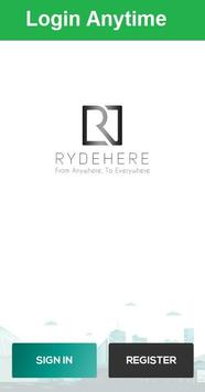 Rydehere Driver poster