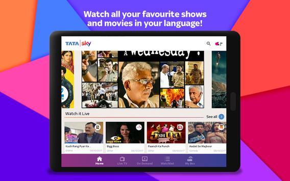 Tata Sky स्क्रीनशॉट 11