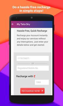 Tata Sky स्क्रीनशॉट 5