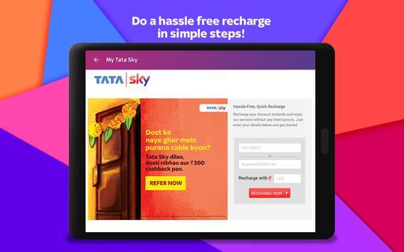 Tata Sky स्क्रीनशॉट 8