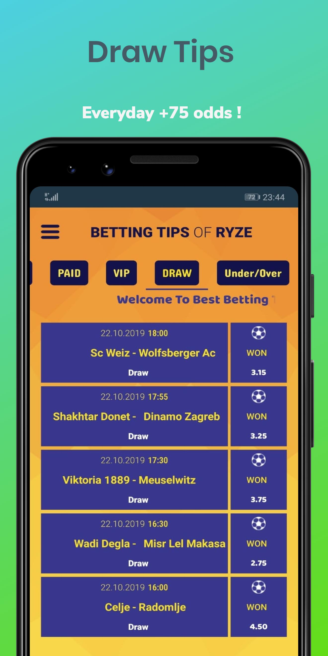 Betting tips applications vote betting